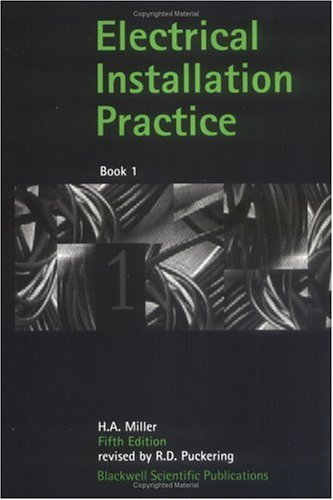 9780632035243: Electrical Installation Practice, Book 1 (Bk. 1)
