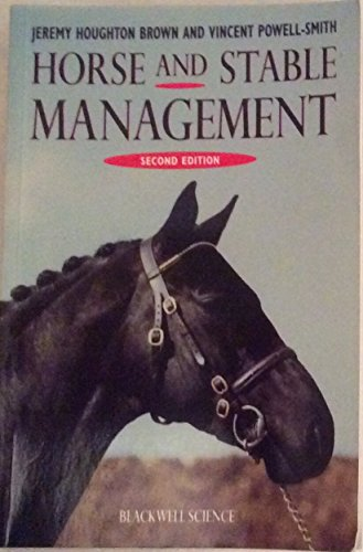 9780632035946: Horse and Stable Management