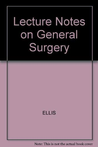 9780632036677: Lecture Notes on General Surgery