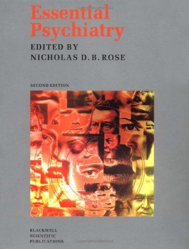 9780632037377: Essential Psychiatry (Essentials)