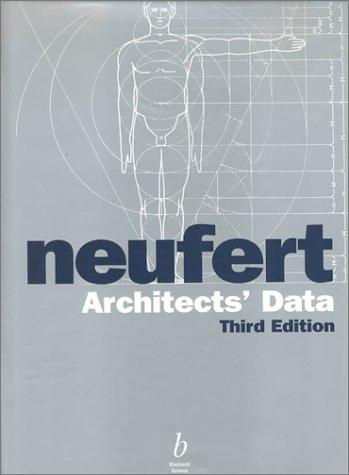 9780632037766: Architects' Data