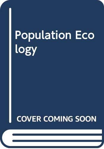 9780632037834: Population Ecology