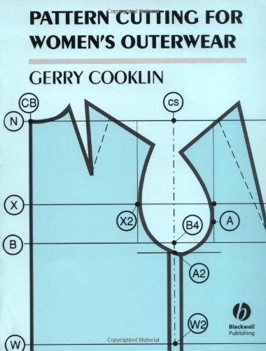 Pattern Cutting for Women's Outerwear (0632037970) by Cooklin, Gerry