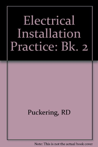 9780632038282: Electrical Installation Practice, Book 2 (Bk. 2)