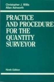 9780632038312: Practice and Procedure for the Quantity Surveyor