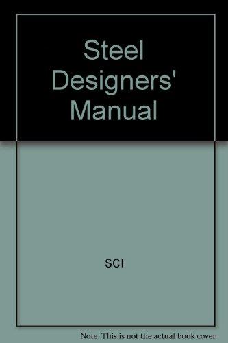 9780632038817: Steel Designer's Manual