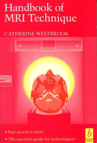 9780632038848: Handbook of MRI Technique