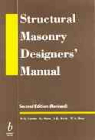 9780632038992: Structural Masonry Designers' Manual