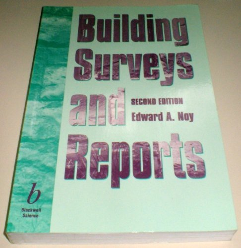 9780632039074: Building Surveys and Reports
