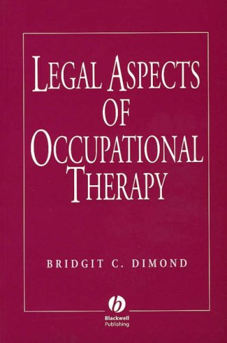 9780632040742: Legal Aspects of Occupational Therapy