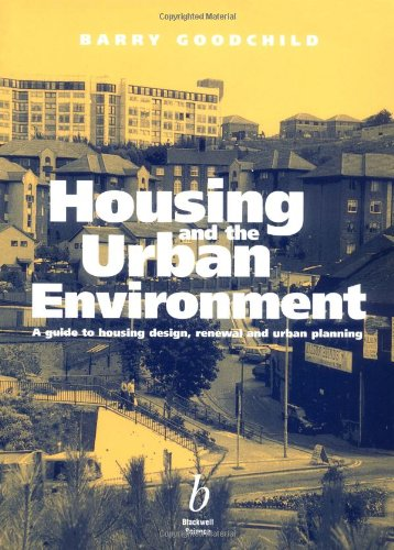 9780632041015: Housing and the Urban Environment: A Guide to Housing Design, Renewal and Urban Planning