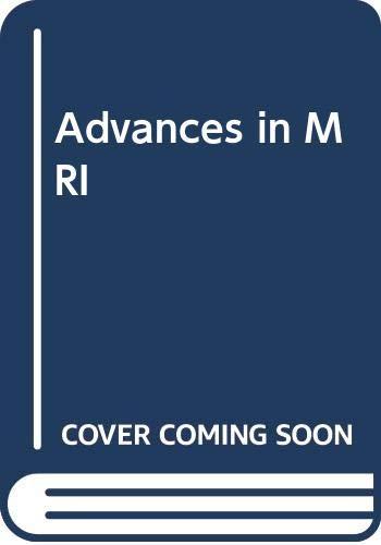 Advances in MRI: Wiley-Blackwell