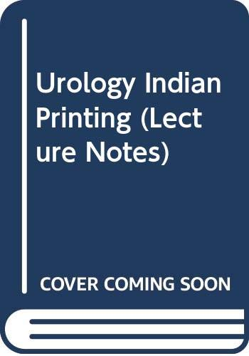 9780632042012: Urology Indian Printing (Lecture Notes)
