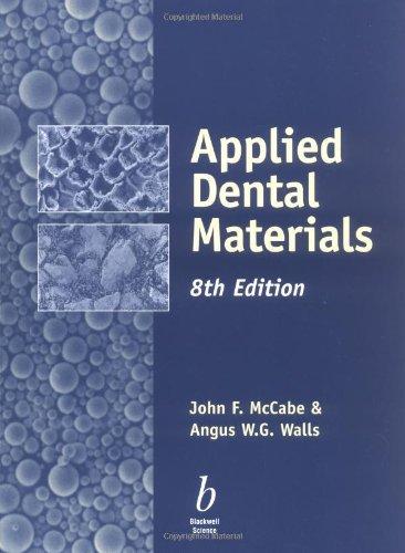 Applied Dental Materials: McCabe, John F.;