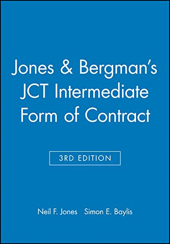 Jones and Bergman's JCT Intermediate Form of Contract