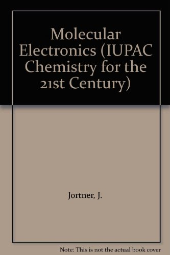 9780632042845: Molecular Electronics (BS - IUPAC Chem 21st C)
