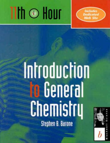 9780632042937: Introduction to General Chemistry