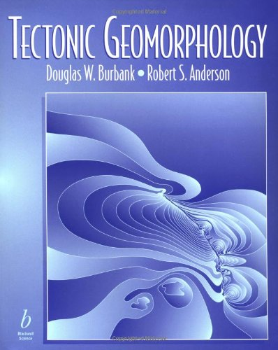 9780632043866: Tectonic Geomorphology: A Frontier in Earth Science