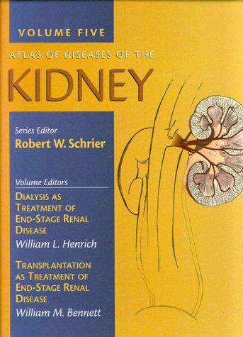 9780632043910: Atlas of Diseases of the Kidney: Volume 5