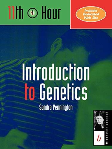 9780632044382: Introduction to Genetics