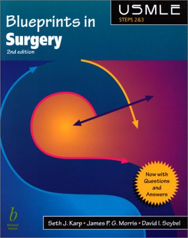 9780632044870: Blueprints in Surgery