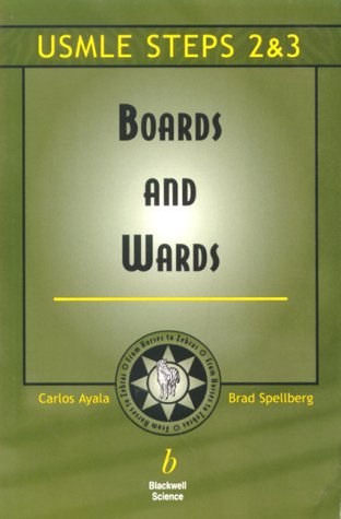 9780632044931: Boards and Wards: A Review for USMLE Steps 2 & 3