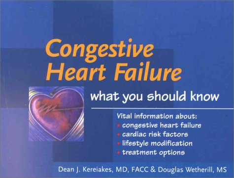 9780632045273: Congestive Heart Failure: What You Should Know