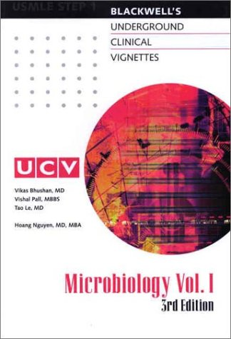 Underground Clinical Vignettes: Microbiology, Volume I: Classic Clinical Cases for USMLE Step 1 ...