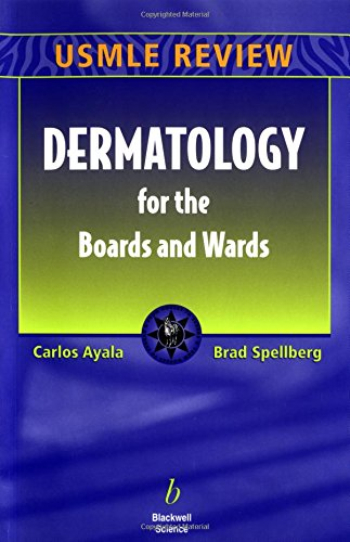 9780632045723: Dermatology for the Boards and Wards