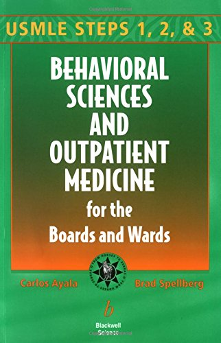 9780632045785: Behavioral Sciences and Outpatient Medicine for the Boards and Wards (Boards and Wards Series)