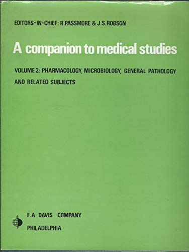 9780632045808: A Companion to Medical Studies, Vol 2: Pharmacology, Microbiology, General Pathology and Related Subjects