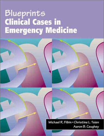 9780632046485: Blueprints Clinical Cases in Emergency Medicine