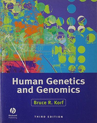 9780632046560: Human Genetics and Genomics