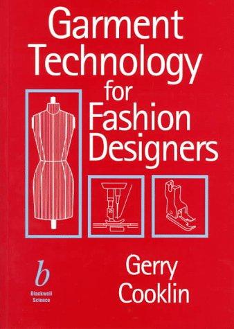9780632047758: Garment Technology for Fashion Designers