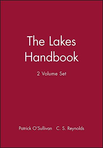 9780632047949: The Lakes Handbook: 2 Volume Set (Vol 1)
