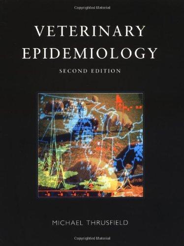 9780632048519: Veterinary Epidemiology