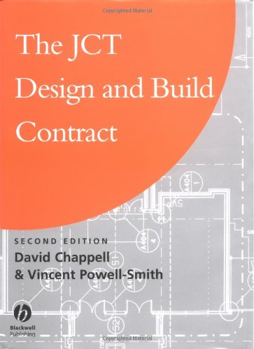 9780632048991 Jct Design And Build Contract Abebooks David