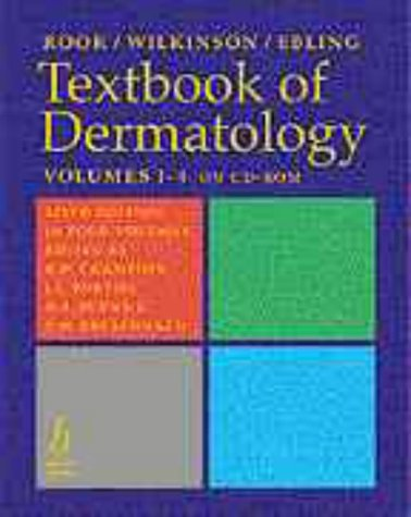 9780632049042: Textbook of Dermatology, 6th Edition (4 Volumes)