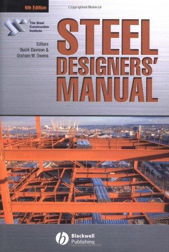 9780632049257: Steel Designers' Manual