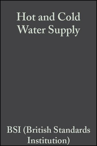9780632049851: Hot and Cold Water Supply
