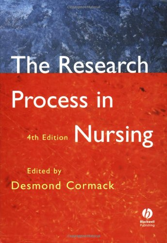 9780632051588: The Research Process in Nursing: Fourth Edition