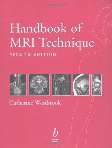 9780632052646: Handbook of MRI Technique