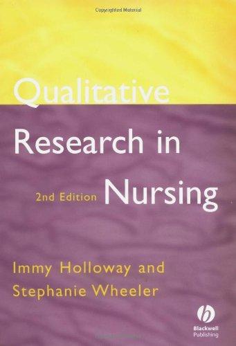 9780632052844: Qualitative Research in Nursing