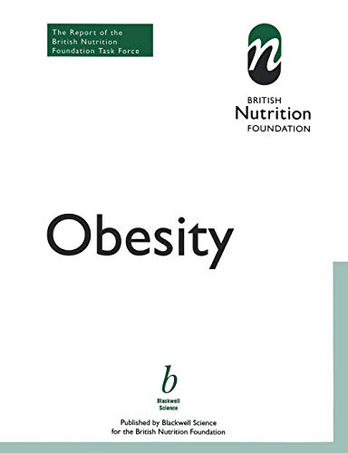 9780632052981: Obesity: Report of the British Nutrition Foundation's Task Force
