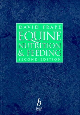 9780632053032: Equine Nutrition and Feeding