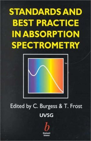 9780632053131: Standards and Best Practice in Absorption Spectrometry