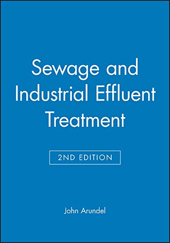 9780632053568: Sewage and Industrial Effluent Treatment: A Practical Guide