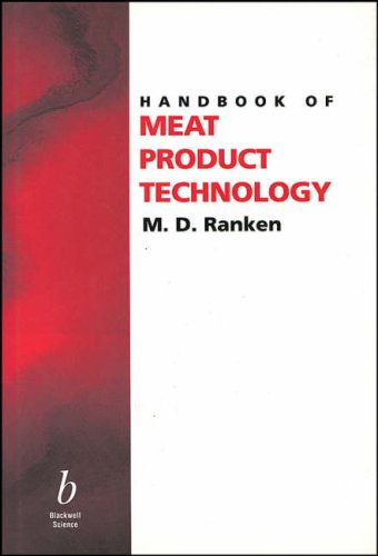 9780632053773: Handbook of Meat Product Technology