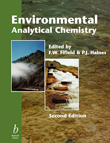 9780632053834: Environmental Analytical Chemistry