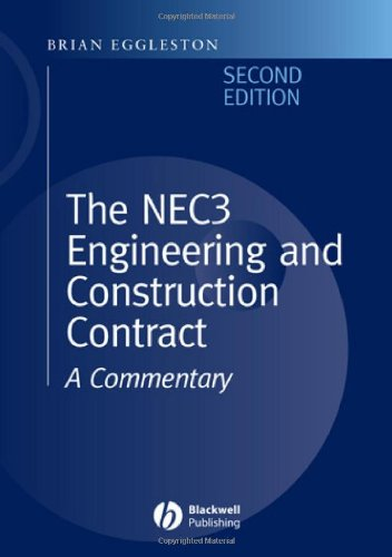 9780632053865: The NEC 3 Engineering and Construction Contract: A Commentary